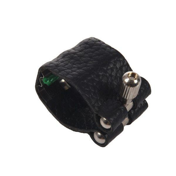 Leather Mark Nozzle Lock Ligature with Straightener for Alto Tenor Standard Saxophone Malaysia