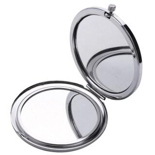 Makeup Mirror Retro Makeup Mirror Portable Cosmetic Mini Vintage Hand Mirror Pocket Mirror thumbnail