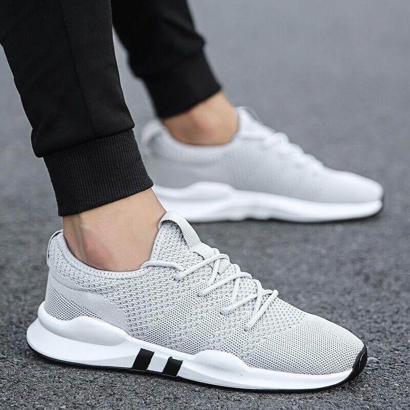 New Fshion รองเท้าผ้าใบ รองเท้าผ้าใบผู้ชาย รองเท้าแฟชั่น 8618