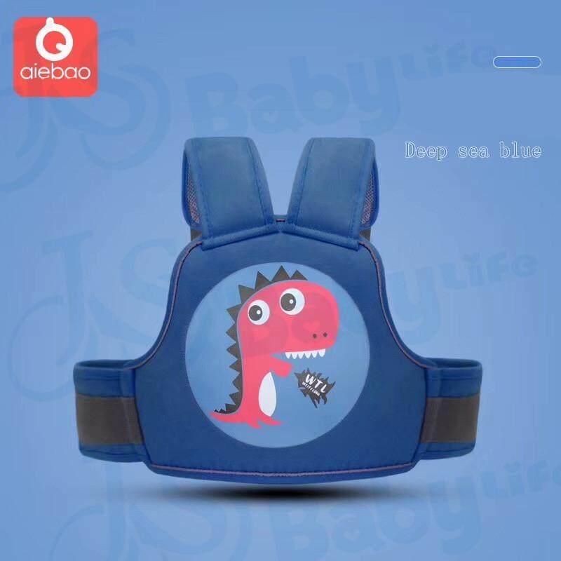 super baby สายรัดนิรภัยกันเด็กตกรถมอเตอร์ไซต์ แบบใหม่ ลายการ์ตูน สำหรับเด็กอายุ 3 - 10 ปี แบบกระเป๋าเป้สะพายหลัง สำหรับขับขี่มอเตอร์ไซต์ รุ่น:D3