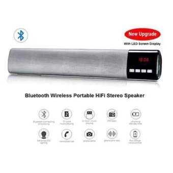 NO.2.B28S 3+ Bluetooth Speaker Charge & Sound Bar สีดำเมทาลิกสุดหรู จะใช้เป็นลำโพงแบบพกพาหรือวางคู่ชุดโฮมเธียเตอร์ ให้ห้องคุณดูหรูหราขึ้นอีกระดับ