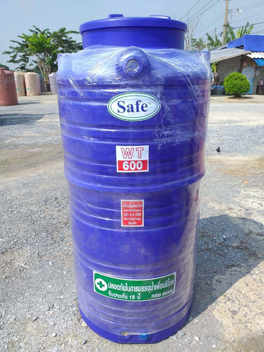 ถังเก็บน้ำ ขนาด 600 ลิตร ถังน้ำพีอี สีน้ำเงิน กรุงเทพปริมณฑล