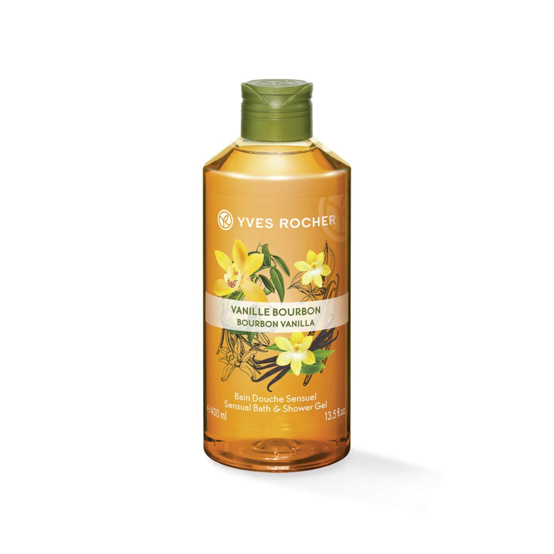 Yves Rocher Sensual Vanilla Shower Gel 400ml By Yves Rocher Thailand.