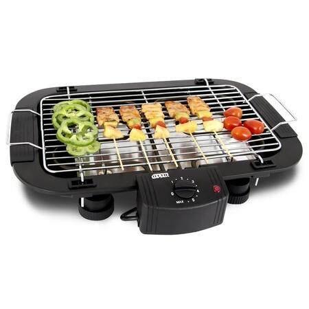 เตาปิ้งย่าง ไร้ควัน เตา ไฟฟ้า Electric BBQ Grill แบบตั้งโต๊ะ ไฟฟ้า 2000 วัตต์ ใช้งานง่าย ปลอดภัย ควบคุมความร้อน ด้วยเทอร์โมสตัท ปรับความร้อนได้ มีระบบ Safety แบบไมโครสวิตซ์