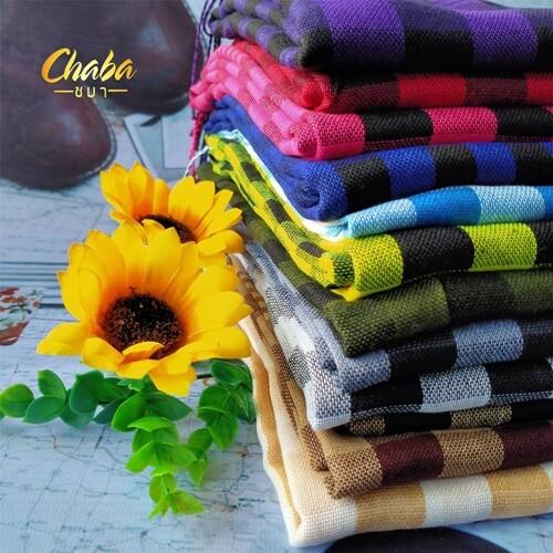 ผ้าพันคอลายสก็อต/แบบผ้าบาง (อ่านรายละเอียดสินค้าก่อนสั่งซื้อ).