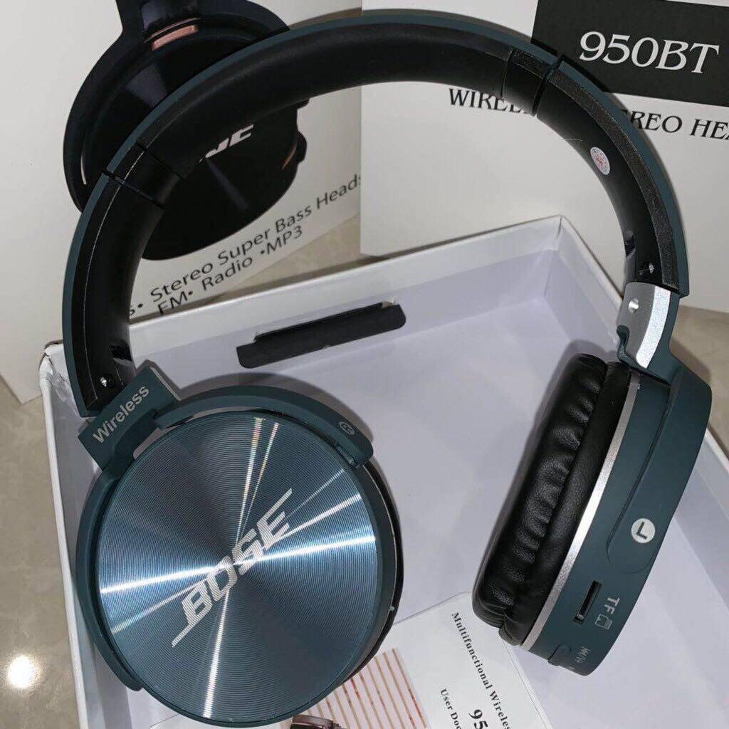 Bose Wireless Bass Headphones หูฟังบอส หูฟังบลูทูธ เบสหนัก หูฟังทรงสปอต รุ่น Qc950 (เลือกสีได้).