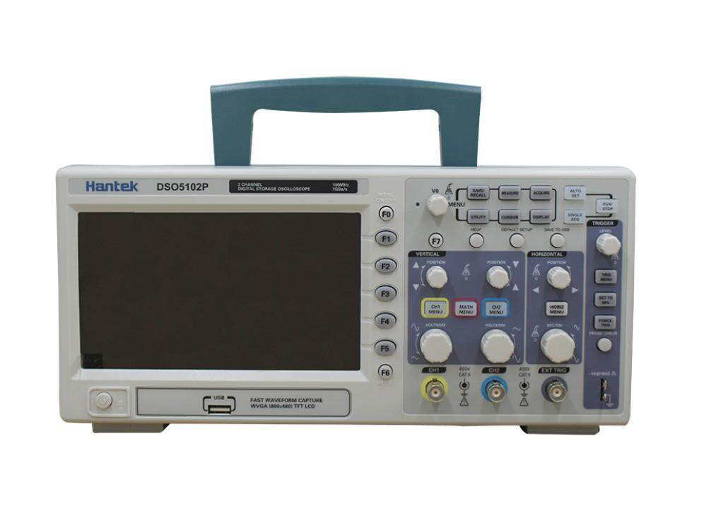 Hantek DSO5102P Oscilloscope 2CH 100MHz เครื่องวัดสัญญาณไฟฟ้า ออสซิลโลสโคป
