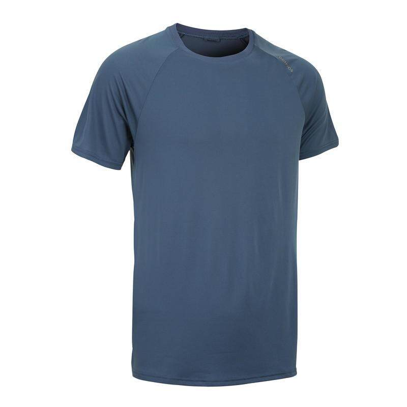 (S-2XL) - เสื้อยืดสำหรับคาร์ดิโอรุ่น FTS 100 Fitness Cardio Training T-Shirt Gym Workout Shirt - (S-2XL)