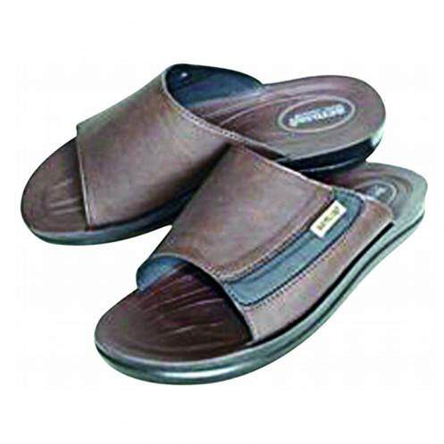 รองเท้าแตะ แอโร่ซอฟท์ รุ่น A4145 สีดำ/เทา ไซส์ 42