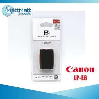 FB แบตเตอรี่ แคนอน Canon LP-E6 (1350mAh) สำหรับกล้อง Canon EOS-R, 5D, 6D, 7D, 70D, 80D-