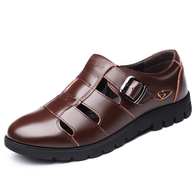 Đánh giày cho đàn ông mùa hè mới tuổi trung niên, giày da người già ở Baoto QMQS giá rẻ