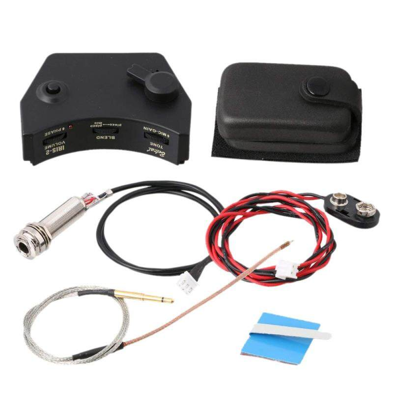 Belcat IRIS-2 Sound Hole Control Preamp Guitar Pickup Piezo Pickup System for Acoustic Folk Guitar Malaysia