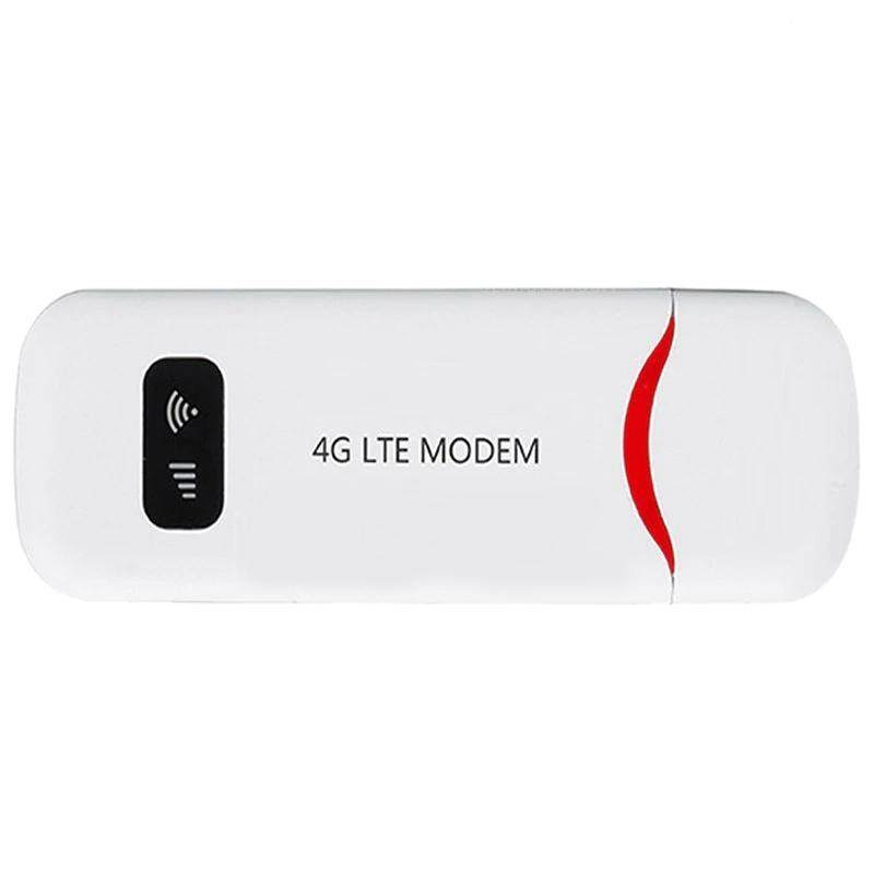 4G Portable Fdd Lte Mobile Wifi Usb Modem Router 100M Band 1/3 Dongle Sim Card Slot Network Card