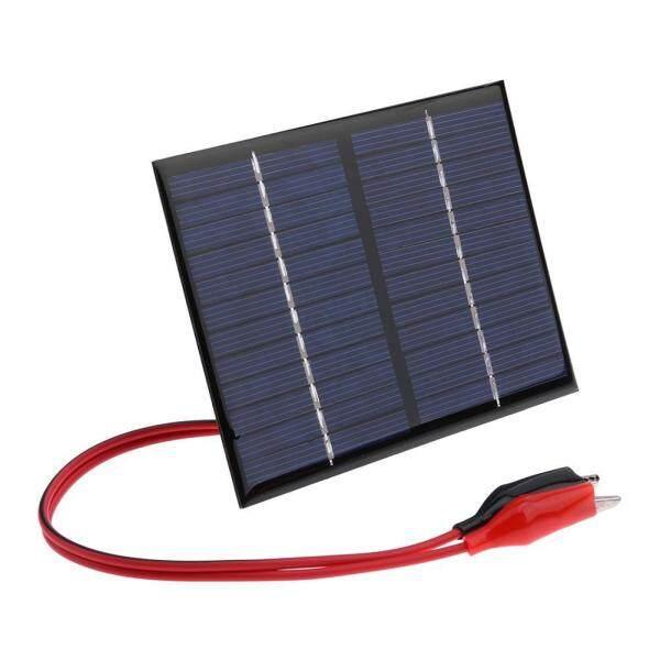 1.5 W 12 V Pin Năng Lượng Mặt Trời Polysilicon Linh Hoạt DIY Tấm Pin Năng Lượng Mặt Trời Power Bank W/Kẹp