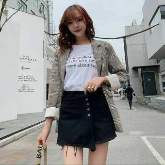 Kaykai_Shop กางเกงกระโปรงแฟชั่นแบบใหม่พร้อมส่ง ✨ สไตล์เกาหลี รุ่น D-2036