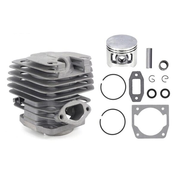 1 Set Diameter 45mm Chainsaw Cylinder and Piston Set Fit 52 52Cc Chainsaw Spare Parts for Gasoline/Oil Chainsaw Spares