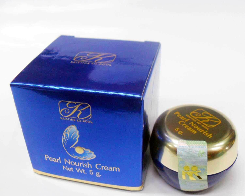 Kristine Ko-Kool ครีมไข่มุก คังเซน-เพิร์ล นอริช ครีม ขนาดเล็ก 5 กรัม(1 กระปุก)