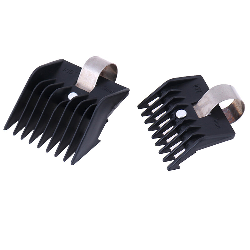 LGJ 4Pcs/Set Universal Hook Limit Comb Trimmer Clipper Attachment Guide Comb Barber nhập khẩu