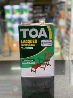 แลคเกอร์เงา (3.785 ลิตร) TOA LACQUER CLEAR GLOSS T-5000
