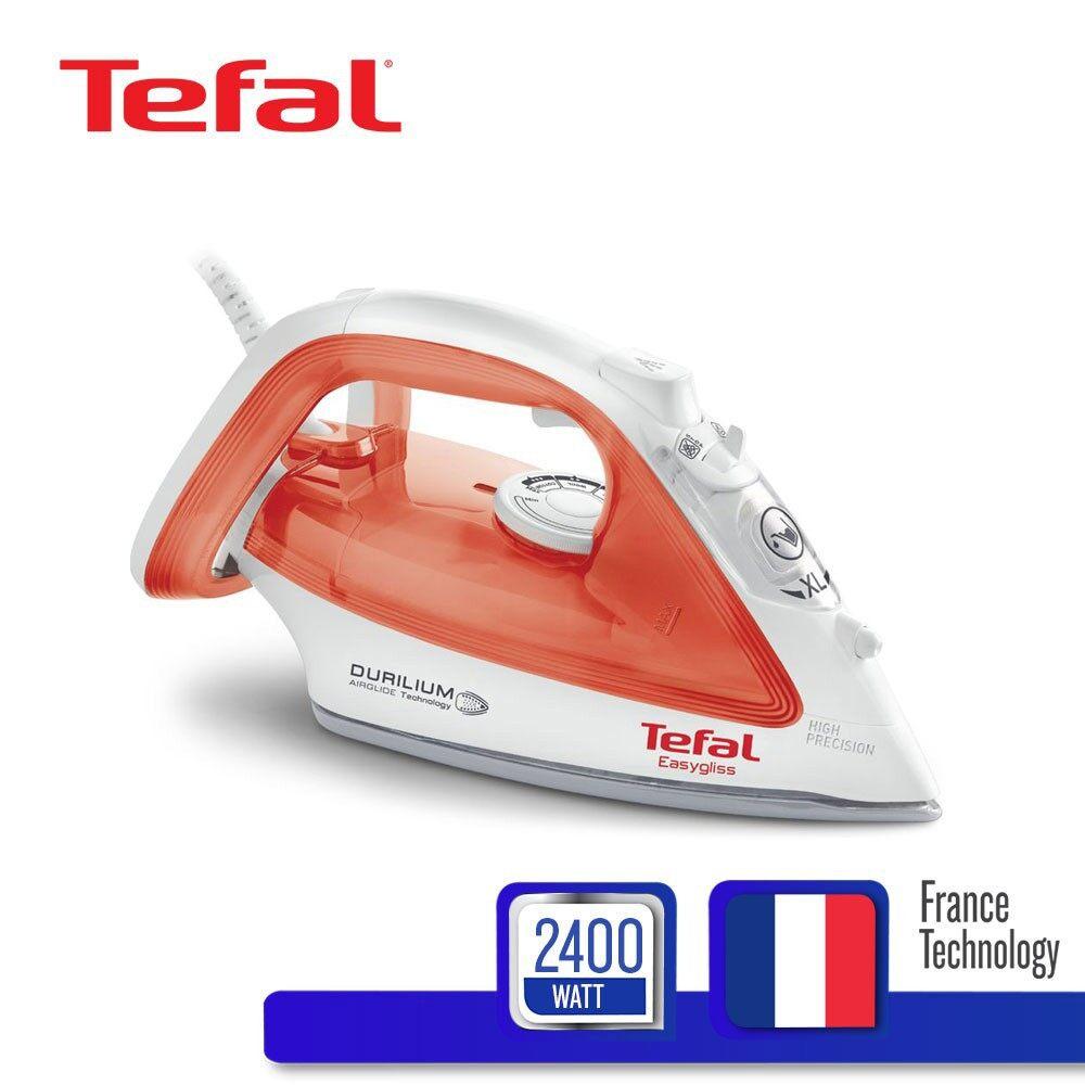 ***ส่งฟรี100% - Tefal เตารีดไอน้ำ กำลังไฟ 2400 วัตต์ 270ml - เครื่องรีดไอน้ำ เตารีดแห้ง เครื่องรีดถนอมผ้า เตารีด  ถนอมผ้า เตารีดไอน้ํา เตารีดพกพา มือถือ เครื่องรีดผ้า ที่รีดผ้า เตาอบผ้า ซัก อบ รีด ผ้า Iron Steam Ironing Machine Sharp Toshiba Philips Otto.