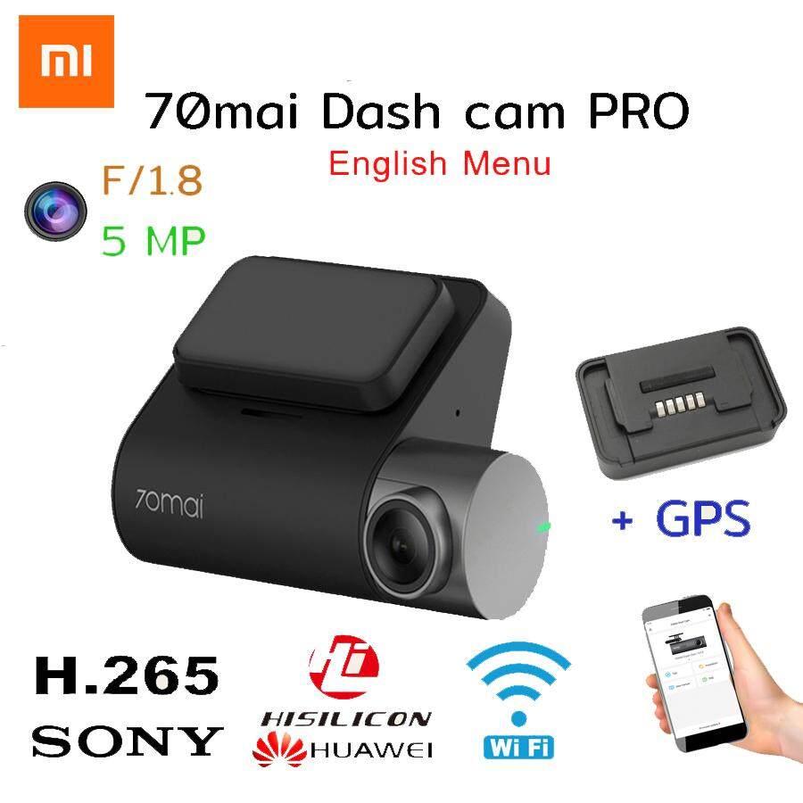 (เมนูภาษาอังกฤษ)Xiaomi 70Mai Dash CAM Pro 1944 จุดรถกล้อง DVR WiFi Voice Control ที่จอดรถ Monitor 140 FOV Dash Camera+ GPS module