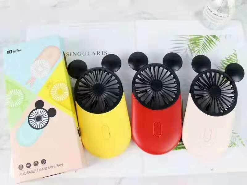 2019 New Style,5V 800mA USB demon Mini Fan Rechargeable Conditioner Fan Cooler Mini Hand Mini Air Portable Held Fans