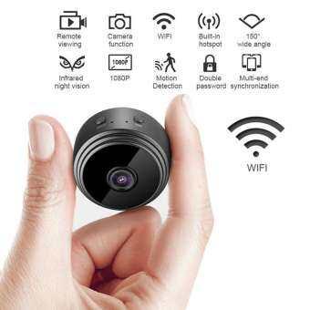 SeaLavender A9 Spy 1080 P กล้องขนาดเล็กที่ซ่อนอยู่ P2P เครือข่าย HD กล้องวิดีโอกีฬากล้อง IP-