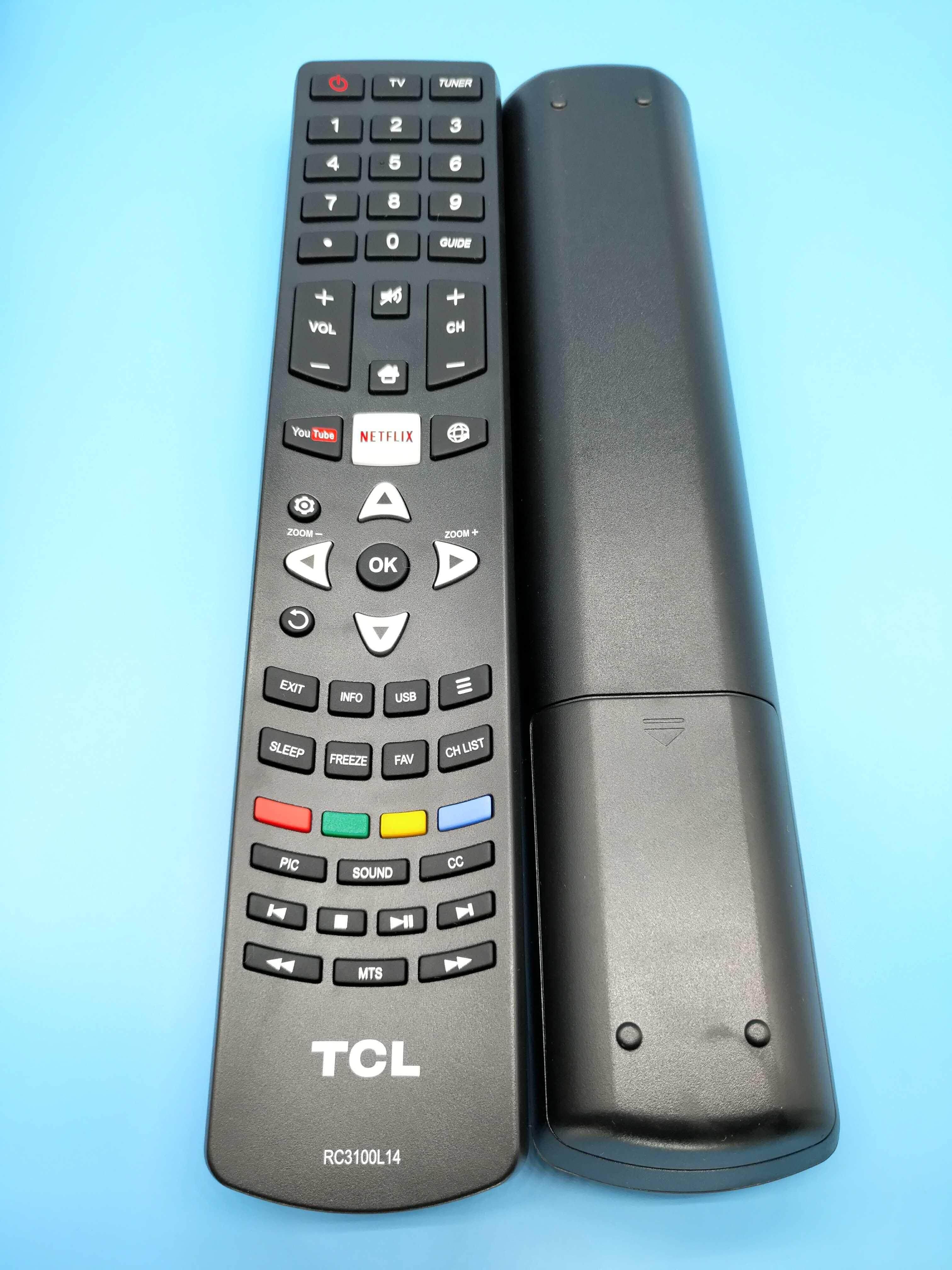 TCL RC3100L14 Remote Control Origional Product TCL RC3100L14 TV Remote Control