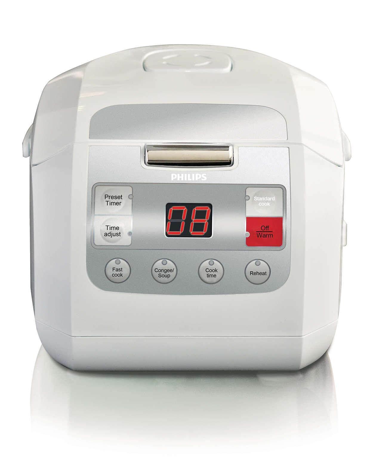Philips หม้อหุงข้าวดิจิตอล รุ่น HD3030