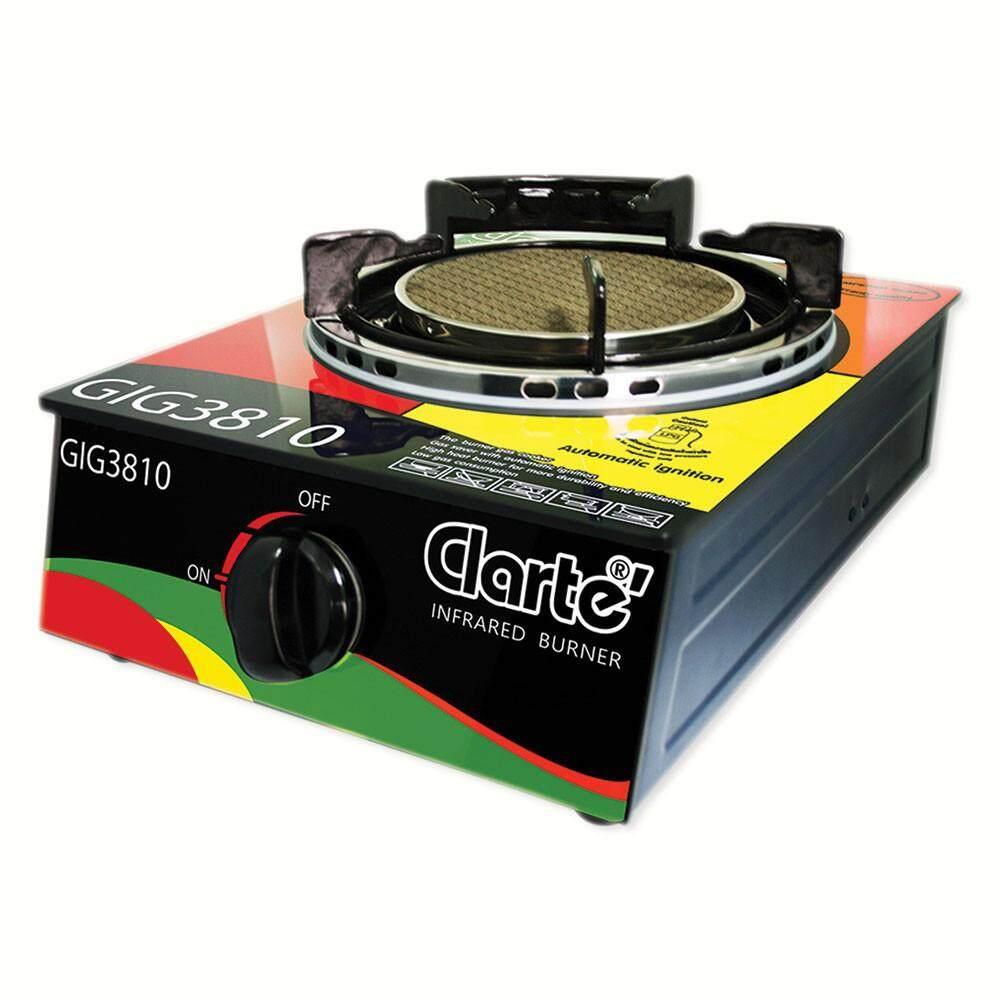 Clarte เตาแก๊สแบบอินฟราเรด ชนิด 1หัวเตา รุ่น Gig3810.