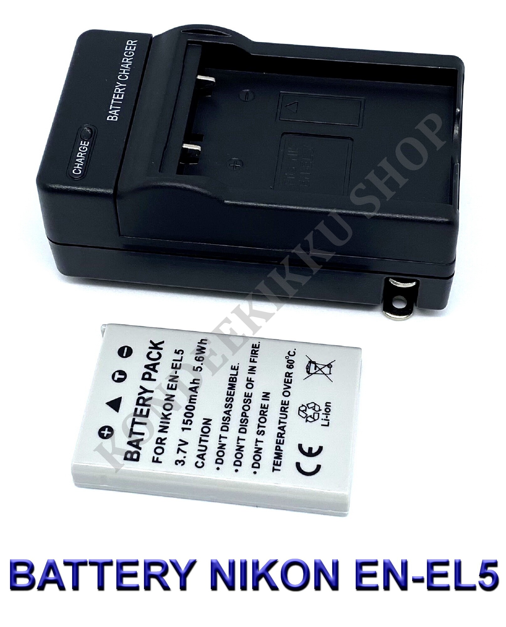 USB Battery Charger EN-EL5 For Nikon Coolpix P5000 4200 P100 Digital Camera