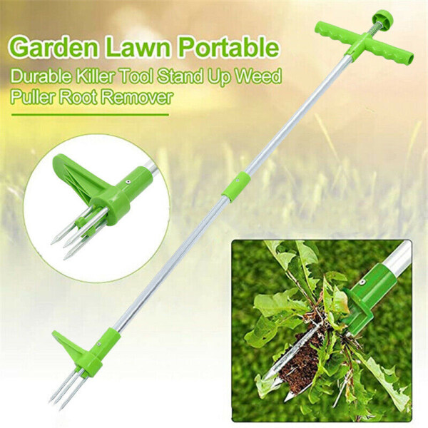 YESMILE Nhà và vườn Nhôm Làm đẹp thiết bị Dụng cụ cầm tay Máy làm cỏ thủ công Móc làm cỏ Làm cỏ Máy nhổ cỏ