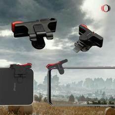 Shooting Tap k03 งานอลูมิเนียม  คู่ซ้าย-ขวา ปุ่มช่วยยิงเกม PUBG MOBILE / FreeFire / Rules of Survival ของแท้100%.
