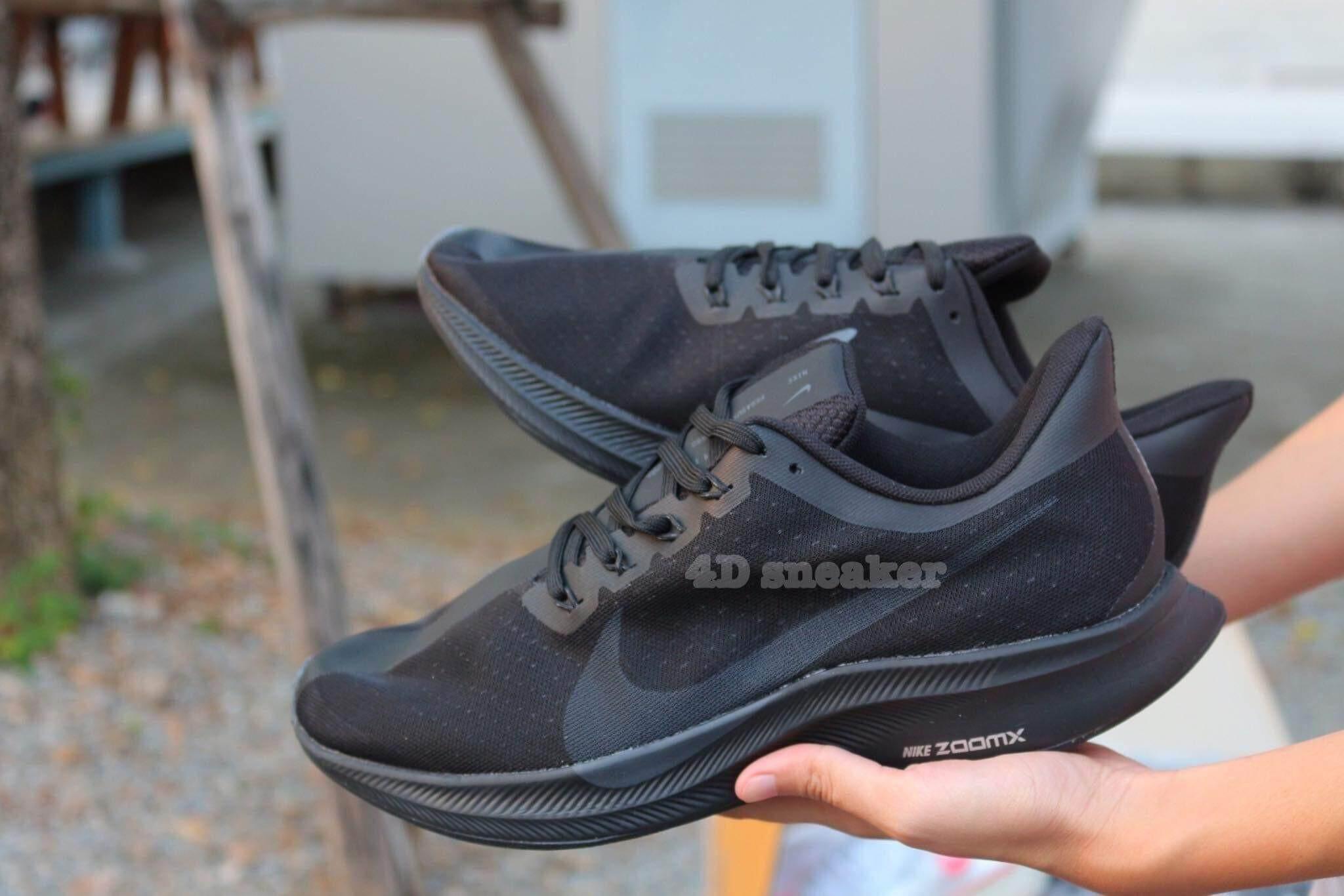 Nike Xoom Pegasus 35 Turbo   Black Color   รองเท้าผ้าใบ สายวิ่ง (Runner Shoe) ในตำนาน สินค้าพร้อมอุปกรณ์ ของแถม ที่ให้มากกว่า Shop!!