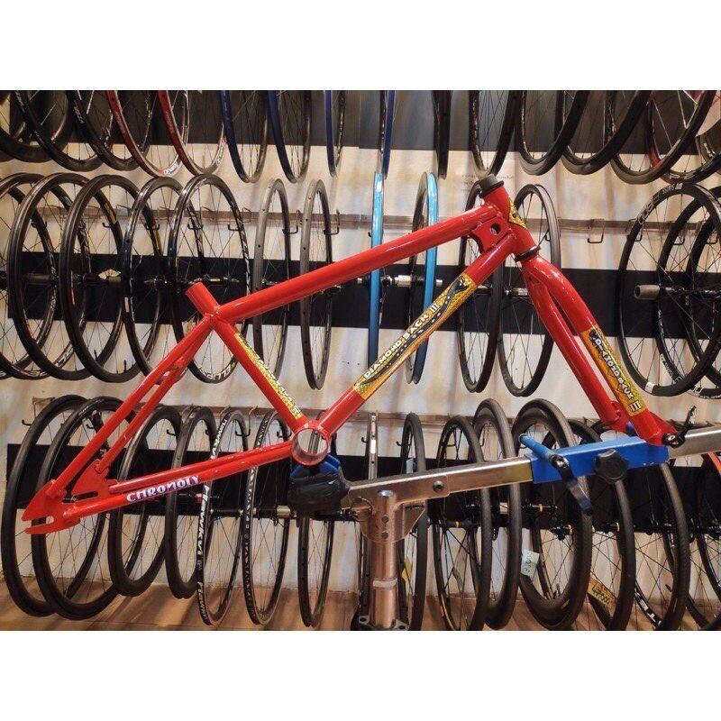 เฟรม จักรยาน Bmx Diamond Back Iii พร้อมถ้วยคอ.