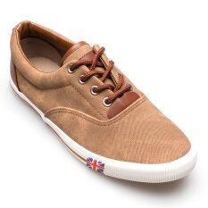 ส่วนลด สินค้า Ease รองเท้าผ้าใบผู้ชาย รุ่น Bok635 สีน้ำตาลอ่อน