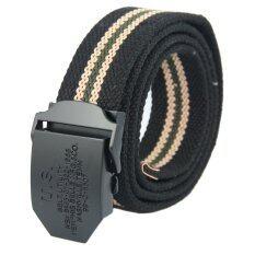 ขาย เข็มขัดผ้า Canvasbelt 6536 Black2Tone ถูก ใน กรุงเทพมหานคร