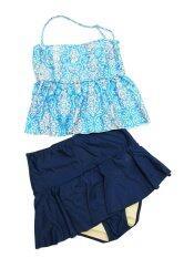 ซื้อ Easy Swim ชุดว่ายน้ำ Two Piece Size Xl สีฟ้า น้ำเงิน Easy Steamer ออนไลน์