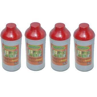 (4ขวด) K.P น้ำส้มควันไม้ 1ลิตร ผลิตจากควันไม้แท้ 100%  papamami ป้องกันแมลง ไล่แมลง กำจัดแมลง ไร้สารเคมี กำจัดเชื้อรา เพลี้ยไฟ ไรแดง ออร์แกนิก