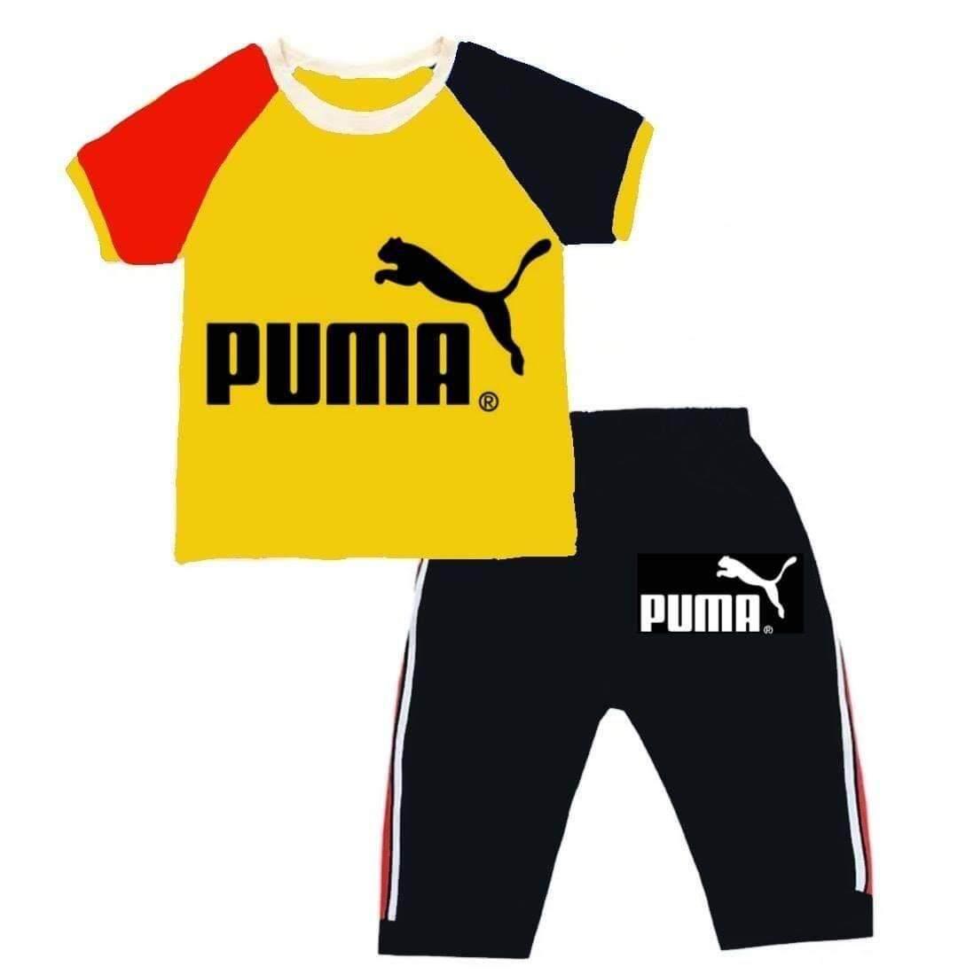ชุดSet เสื้อยืดสกรีนลาย +ขาสั้นสำหรับเด็ก (1ชุด) มีหลายแบบให้เลือก ไซส์ S M L XL XXL-**หากสีที่เลือกหมด ร้านจะจัดส่งอีกสีแทนคะ**