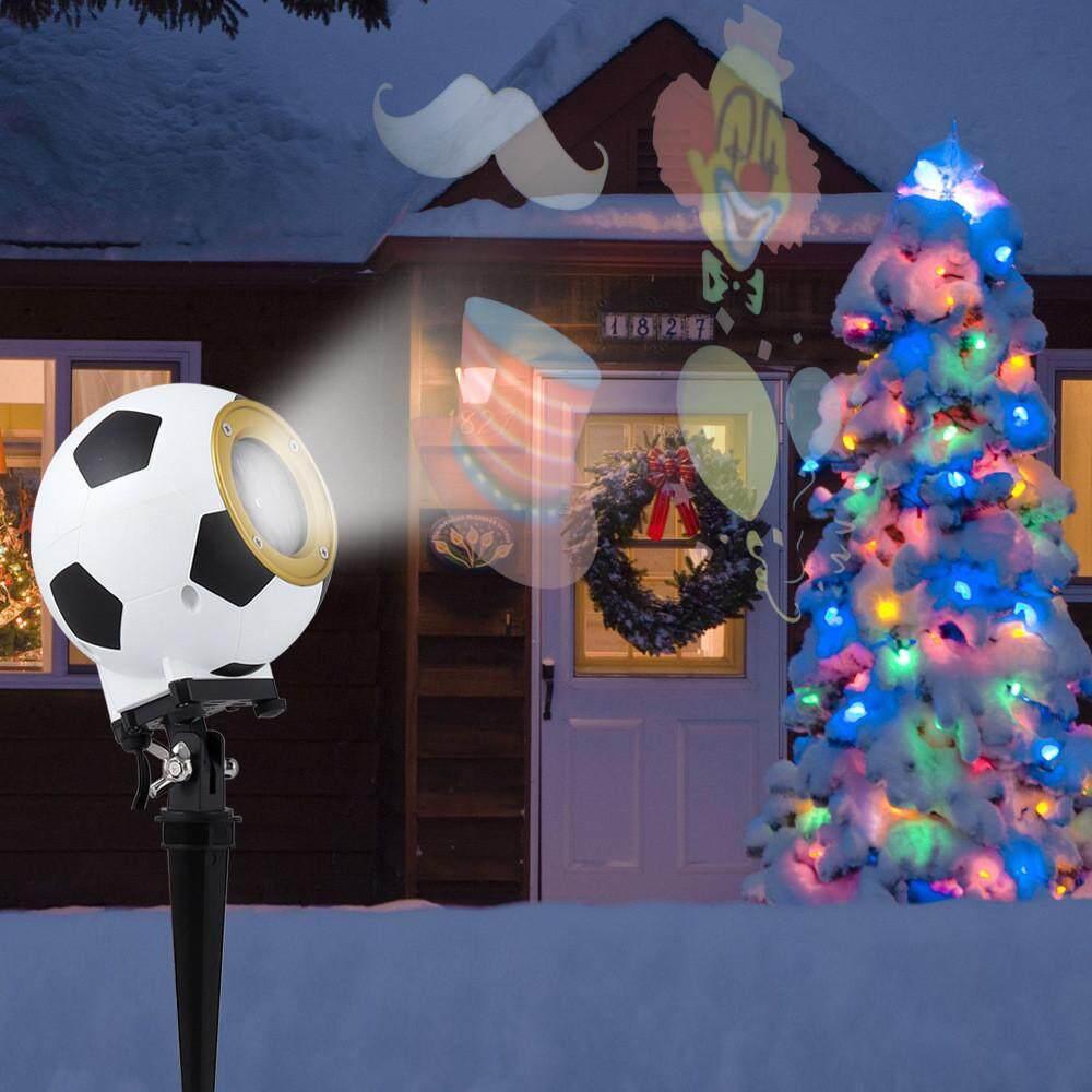 โคมไฟโปรเจคเตอร์โคมไฟสปอตไลท์ LED สำหรับกลางแจ้งวันเกิดลานสวนของตกแต่งงานปาร์ตี้