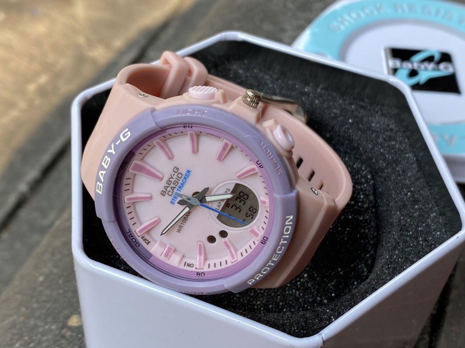 T-Time นาฬิกาดิจิตอลสีพาสเทล พร้อมกล่องคาสิโอ้.