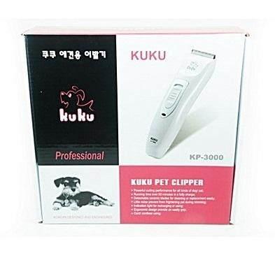Kuku Codos ปัตตาเลี่ยนตัดขน หมา แมว แบบไร้สาย รุ่น Kp-3000 เปลี่ยนใบมีดได้ By Tailybuddy.