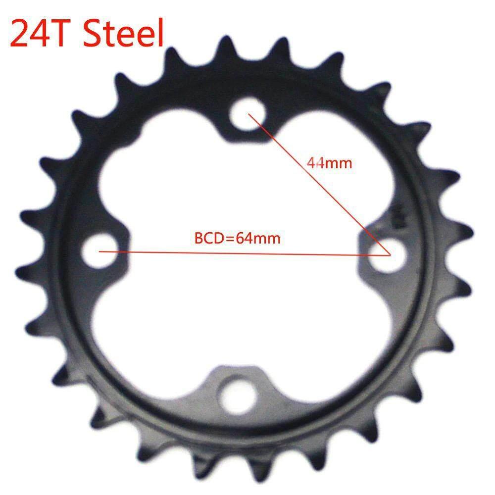 ใบจานหน้าจักรยาน ขนาด 104bcd 22/24/32/42/44t Alloy/steel (1 ชิ้น).
