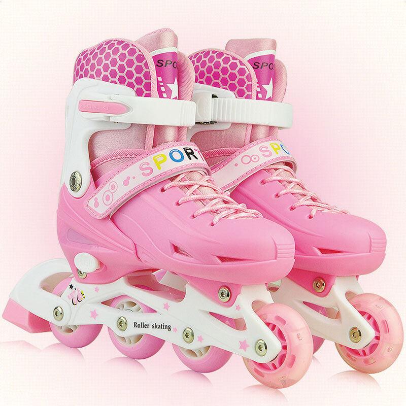 Phân phối Giày Trượt Patin Bob Chính Hãng Cho Nam Và Nữ, Giày Trượt Patin Một Hàng Có Đèn Flash, Điều Chỉnh Được