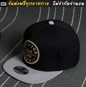 All Caps Thailand - หมวกแก๊ป BRIXTON (สีดำ)