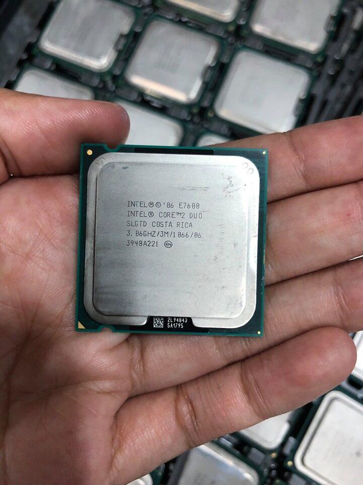 ซีพียู Intel Cpu Core 2 Duo E7400-E8500 ซีพียู มือสองราคาถูก Cpu Computer.
