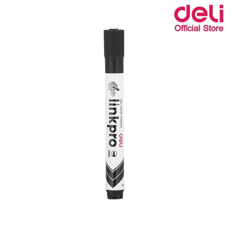 Deli U005 Dry Erase Marker  ปากกาไวท์บอร์ดแบบเติมหมึกได้ ขนาดหัว  2.0  Mm แพ็ค 1 ด้าม  ปากกาไวท์บอร์ด ไวท์บอร์ด ปากกาเขียนกระดาน เครื่องเขียน อุปกรณ์เครื่องเขียน อุปกรณ์สำนักงาน เครื่องใช้สำนักงาน อุปกรณ์ออฟฟิศ เครื่องใช้อฟฟิศ เครื่องใช้โรงเรียน.