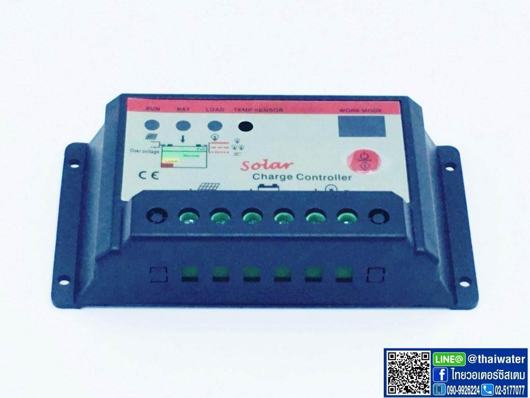 Image 4 for โซล่าชาร์จเจอร์ ( Solar charger ) 20A 12V/24V PWM รุ่น 2024