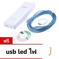 ทบทวน Edup 8523 Usb Wireless High Power 2000Wm OutdoorตัวรับสัญญาณWifiติดตั้งภายนอกไต้ สายยาว5ม Edup